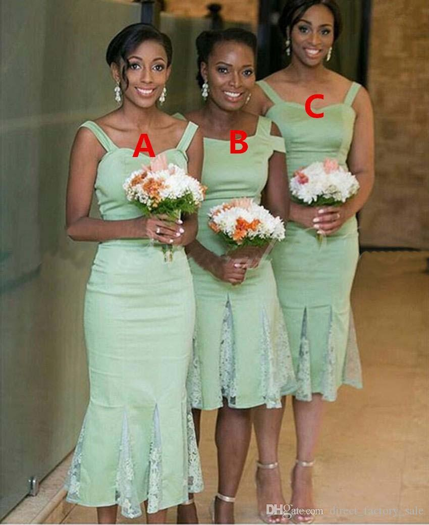 Beste Minze Farbige Kleider Brautjungfer Fotos - Hochzeit Kleid ...