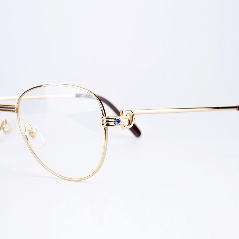 4922da09fa Metal Frame Optical Eyeglasses Brand Designer Prescription Glasses Classic  Men Large Frame .
