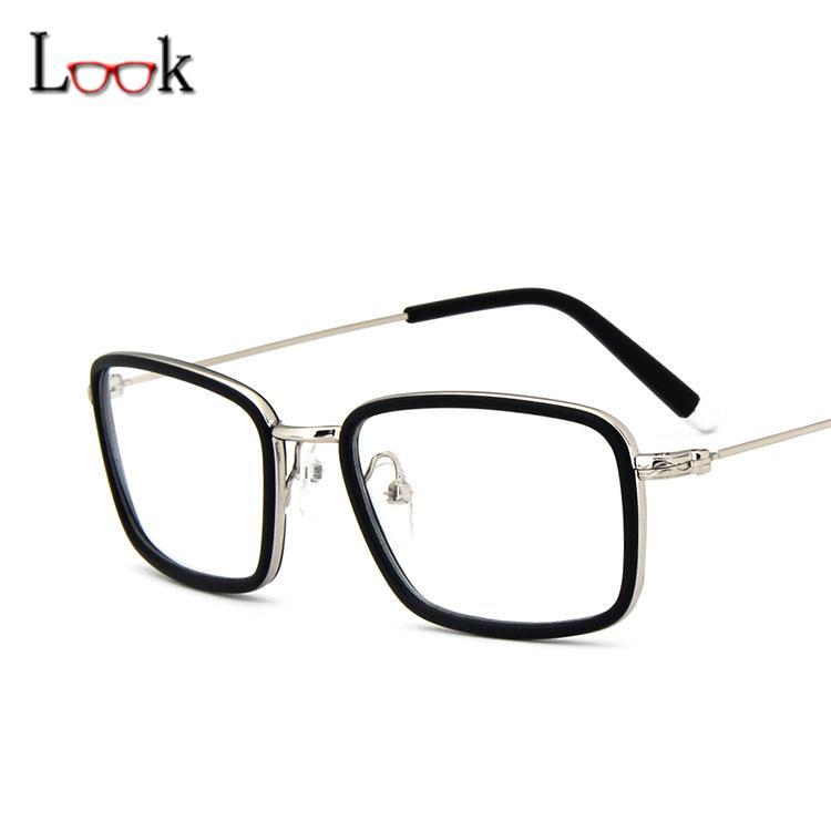 2018 Wholesale New Arrival 2017 Fashion Square Glasses Frame Brand ...