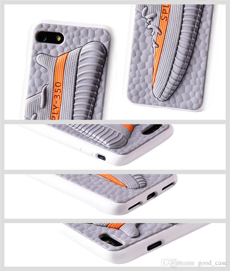 For iphone 7 case Kanye West Sply V2 350 Boost design cases brand sports shoes shockproof environmental cover for iphone 6 6s 7 plus sale
