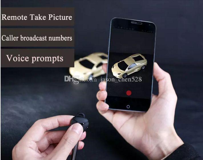 Remax RB-T3 Mode sans fil Bluetooth écouteurs avec microphone HD / haut-parleur pour iPhone Samsung voyager légende style Smartphone