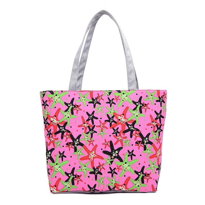 2914ea442117 Wholesale Lovely Starfish Canvas Handbag Preppy School Bag For Girls  Women S Handbags Cute Bags Ladies Bags Backpack Purse From Paradise03