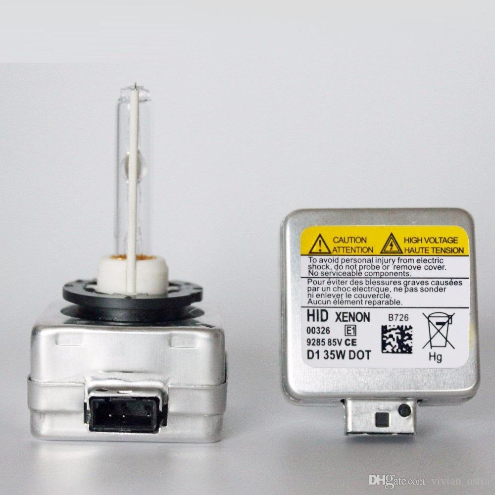 Nuevo 12V 35W D1S D1C Xenon HID Bombillas Faros Adaptador convertidor de lámpara de coche base 4300K / 5000K 6000K 8000K 10000K 12000K