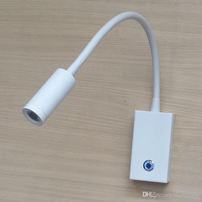 Topoch LED Lamba Dimmer Açık / Kapalı Dokunmatik Anahtarı Dar Işın Ayarlanabilir Aydınlatma Açıları Dahili Sürücü Kapatçılar için Dahili Sürücü Yumuşak Işık Camper Marine