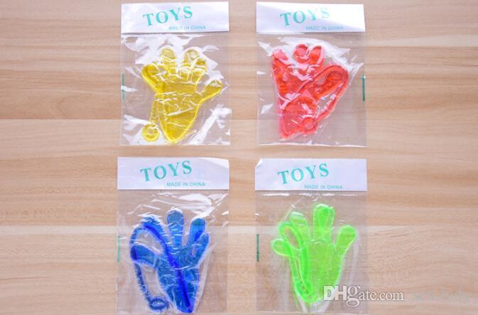 Elastically gerilebilir yapışkan palmiye kraliçe hurma Tırmanma Tricky tüm oyuncak eller Dekompresyon Oyuncaklar Çocuklar Hediye oyuncak