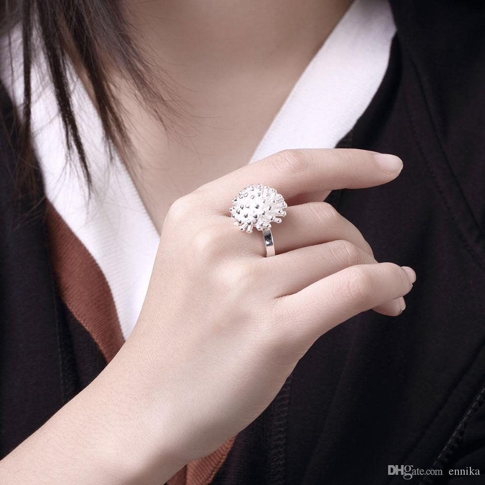 Wholesale 925 Silver Ring Size 6 7 8 Beautiful Designer Fireworks Rings Finger Party Ring For Women Fashion Jewelry r001