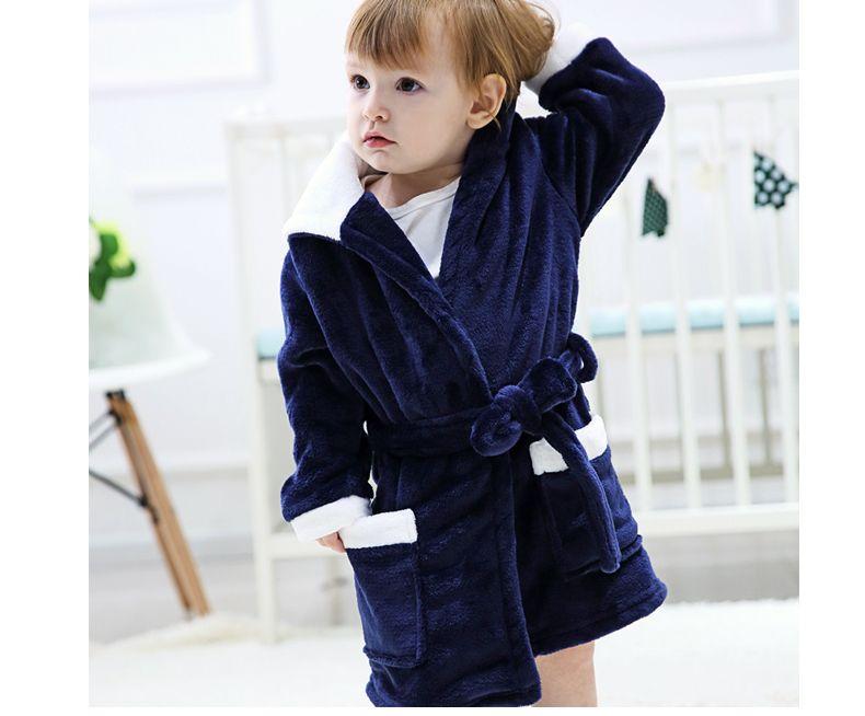 1584308fa Winter Spring Warm Baby Clothing Children Cartoon Flannel Bathrobes Animal  Home Wear For 3 10 Years Kids Birthday New Year Gifts Little Girls Pyjamas  Kids ...