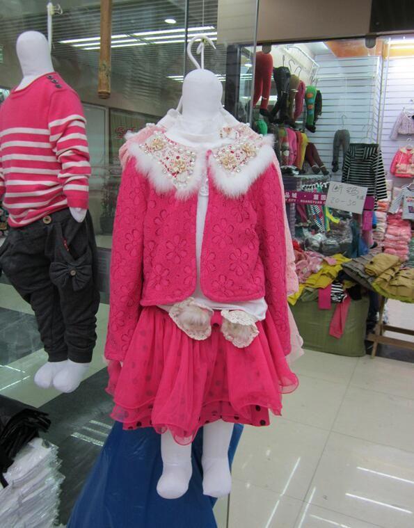 wholesale 2colour adjustable sewing Mannequins display 90cm model children's clothing, headless software models,Folding bending B897