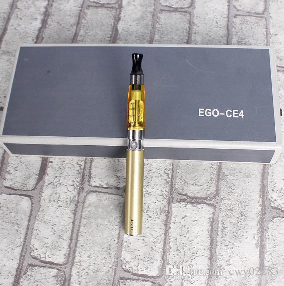 Ce4 doppia scatola regalo high-end caricato sigaretta elettronica set di fumo combinazione di inviare olio di fumo uomini e donne comuni