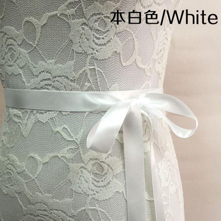 신부 띠 웨딩 공주 라인 석 벨트 소녀 꽃 들러리 드레스 띠 웨딩 액세서리 멀티 컬러 리본 SW51