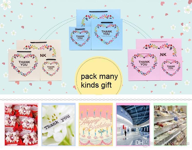 Kağıt hediye çanta hediye çanta düğün favor çanta misafirler için düğün hediyeleri parti hediye çantası parti favor çanta