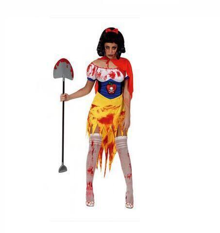 Adult Halloween Zombie costume Snow White Zombies serve Terror Cartoon clothing