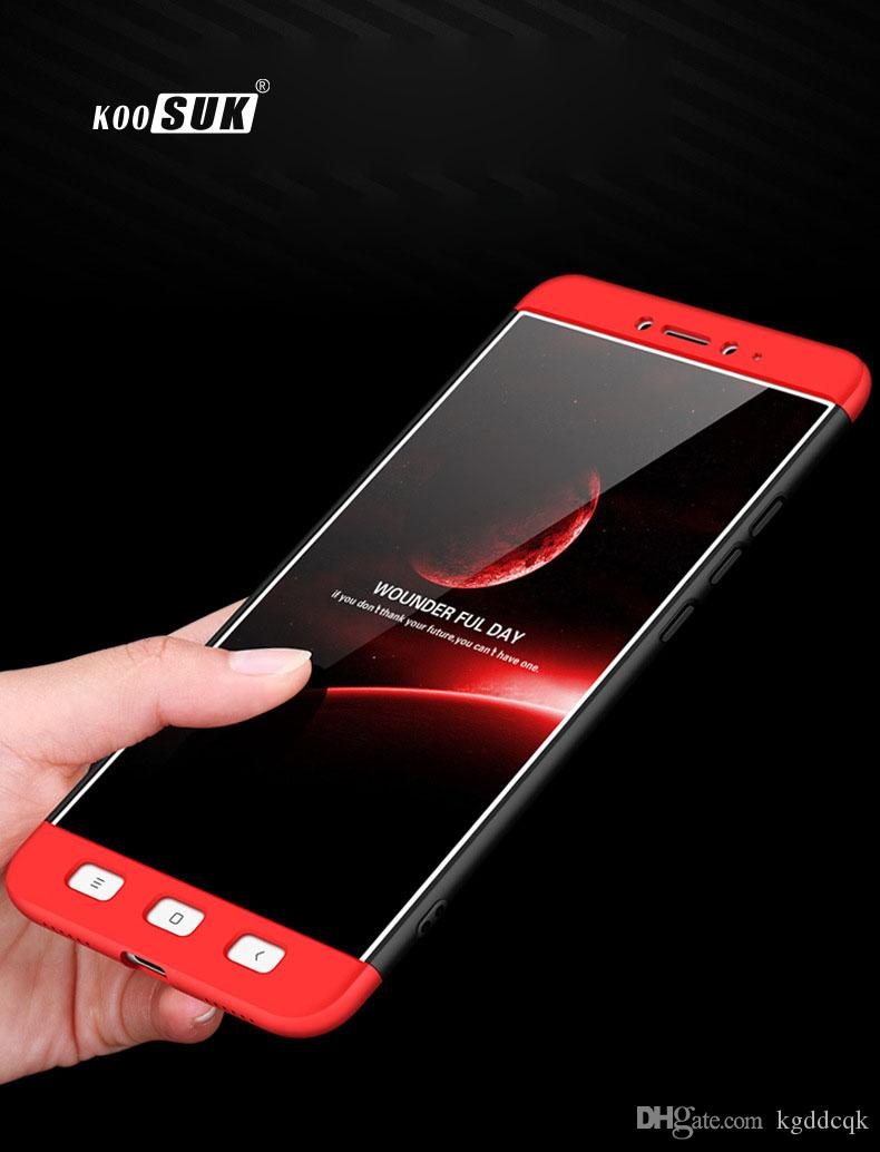 Coques Smartphone Xiaomi Redmi Note 4 4x Cas De Protection Complete Mode Mi5 Mi5s Mi6 3 En 1 Antichoc Dur Telephone Coque Arriere