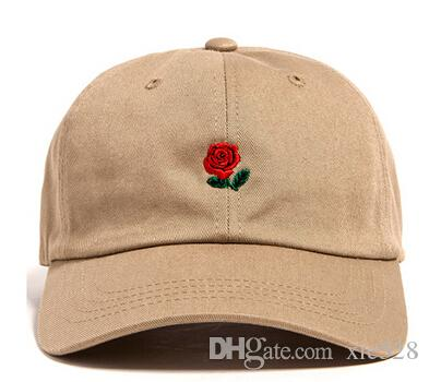 5dc8a88e2f6 Red Rose Bone Classic Logo Dad Hat Gorras Snapback Caps Kanye West Kermit  Embroidered Baseball Cap I Feel Like Pablo Casquette Trucker Hats Flat Caps  For ...