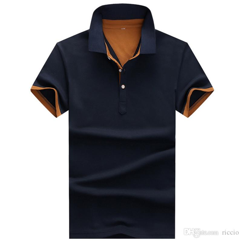 Polo Shirt For Men Designer Polos Men Jerseys Casual Male Polo Shirt Short  Sleeve Fashion Polo Homme Camisetas Men Clothing PO224 UK 2019 From ... 5ea7f9285