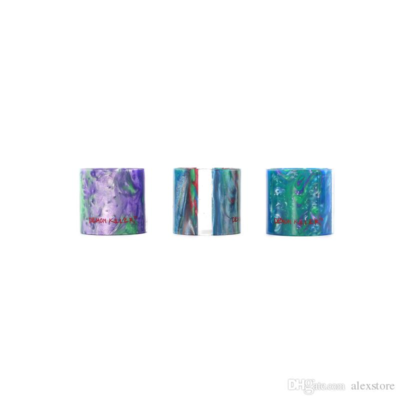 Demon Killer Replacement Resin Tube for TFV8 TF12 Baby Cleito 3.5ml 5ml MELO 3 MELO III Mini iJust S Drip Tip DHL