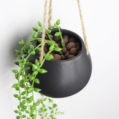 2018 Creative Hanging Pots Succulents Flowerpot Suspension Hanging Basket Hanging  Pot Flower Pots Chlorophytum Beads Vase 29 From Qinyuanstone, ...