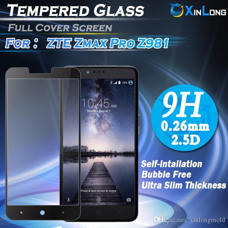 Flachbildschirm-Druck-ausgeglichenes Glas-Schirm-Schutz für ZTE ZMAX PRO Z981 Vivo X7 PLUS V3 MAX XIAOMI 5 NOTE3 PRO mit Kleinverpackung