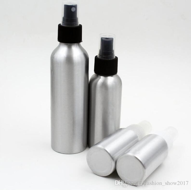 알루미늄 스프레이 병 파인 안개 분무기 빈 향수 스프레이 병 화장품 포장 용기 30 / 50 / 100 / 120 / 150 / 250ml