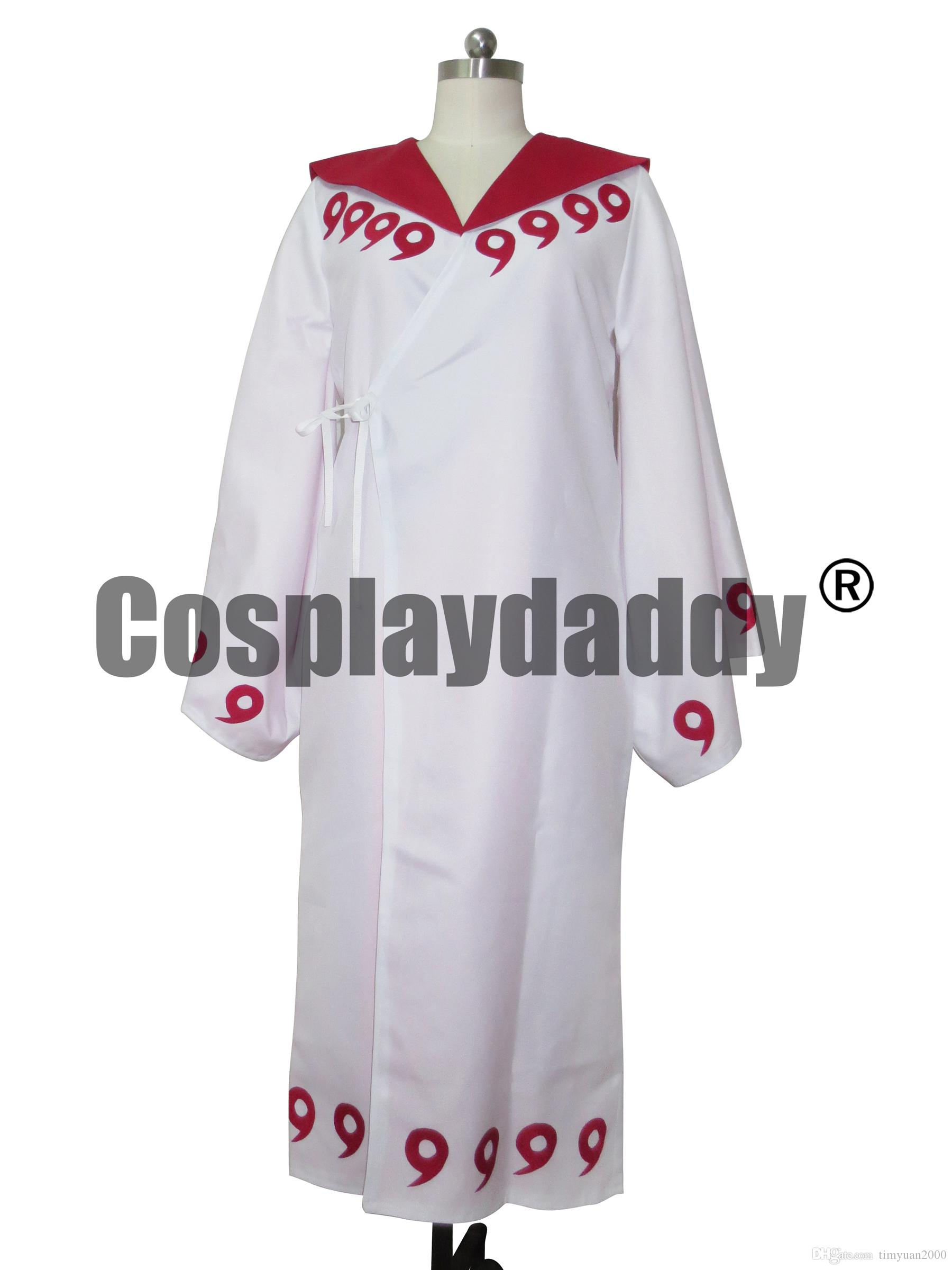 Naruto Rikudo Sennin Ootutuki Kaguya Uchiha Madara Obito cosplay Clothes Cloak 9