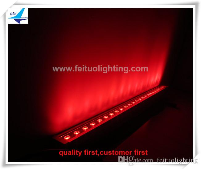Professional Outdoor Led Lighting 24x4w Rgbw 4in1 Wall