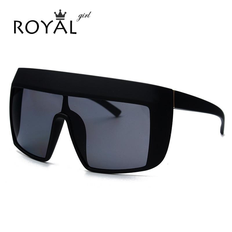 de6eac949 Compre Atacado Royal Girl Oversize Acetate Sunglasses Mulheres Flat Top  Square Óculos De Sol Óculos Ss109 De Value222, $30.69 | Pt.Dhgate.Com
