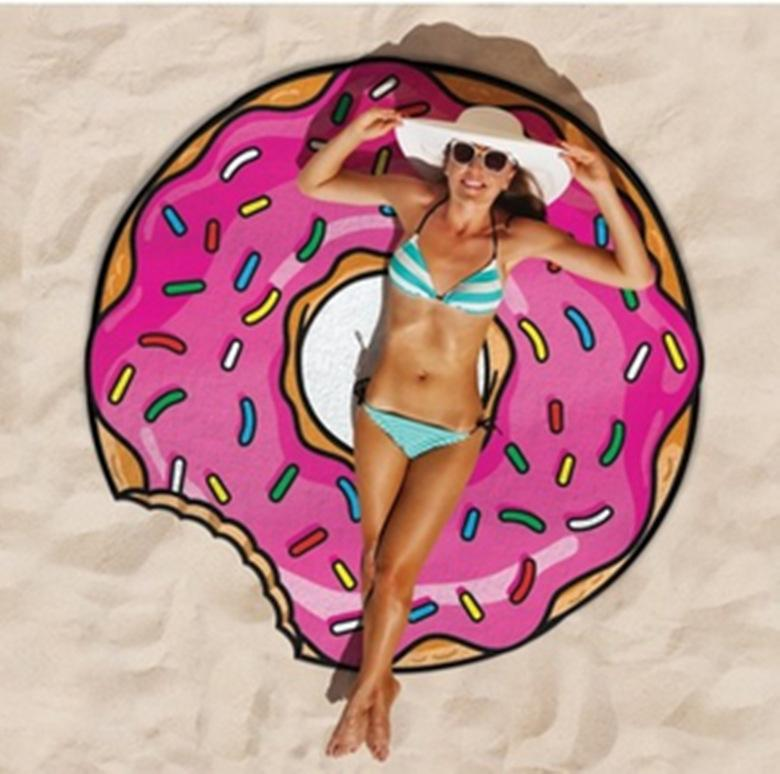 Runde Strand Handtuch Yoga Matte indische Mandala Tapisserie gedruckt Hippie Strand Handtuch Schal hawaiian Boho Strand Schal 60