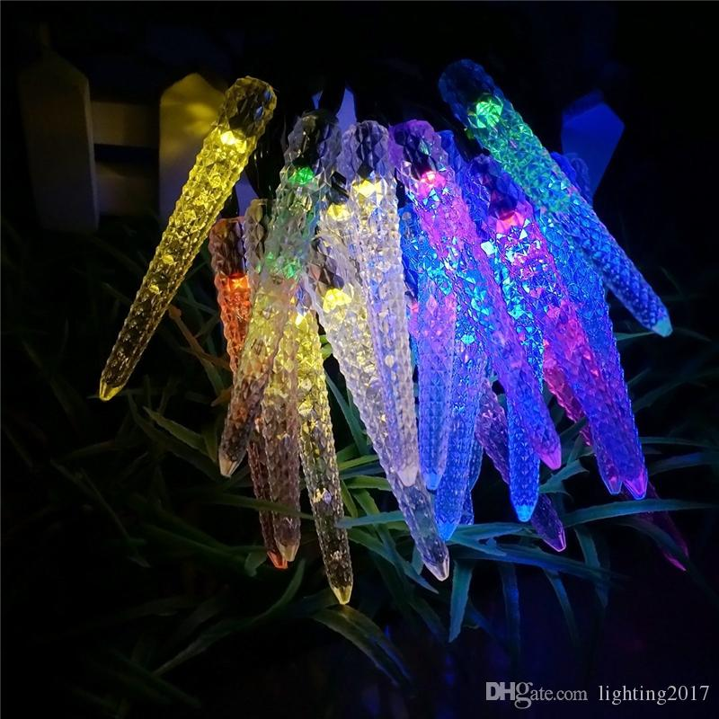 Cheap Led Solar Powered Christmas Lights 48m 20 Led Multi Colored