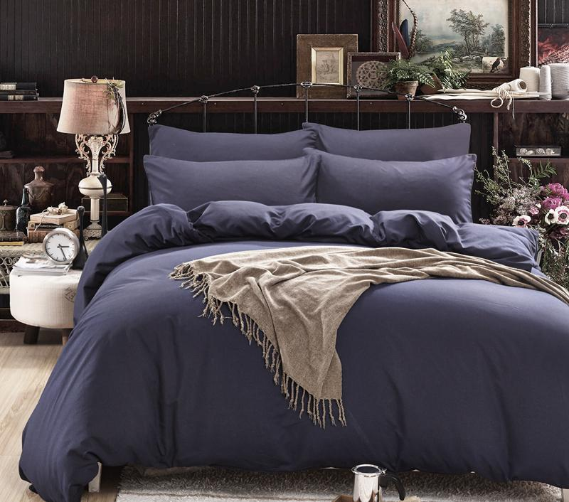 Wholesale Solid Color Bedding Set Super Soft King Queen Full Twin Size Duvet  Cover Sets Bedclothes Double Single Duvet Covers Pillowcases King Duvet  Covers ...