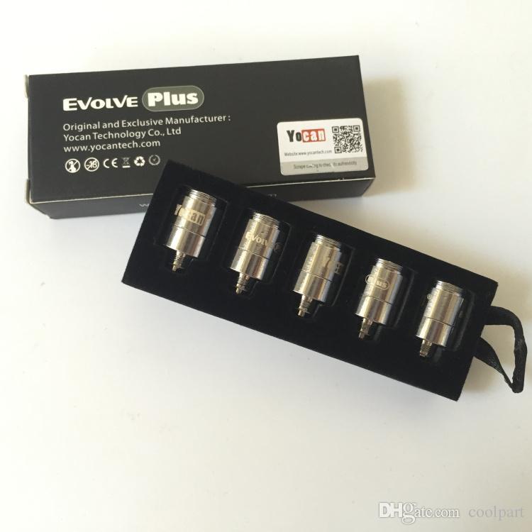 Yocan Evolve Plus Kit Evolve-Dドライハーブ蒸発器ペンe CIGS Vape !!!新しい100