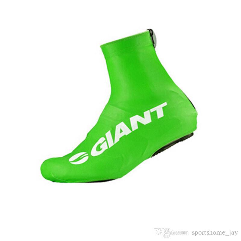 2017 Pro géant Team Ciclismo Couvre-chaussures Sport Couverture / Couvre-chaussures De Vélo Mountian / Route De Vélo Couvre-Chaussures Couvre Pour Homme / Femmes