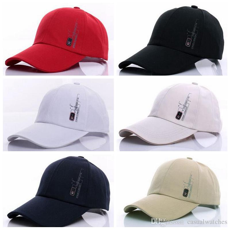Sports Hat Men S Baseball Cap Sun Hat Korean Style Caps Solid Color Canvas  Hat Hat Stores Custom Trucker Hats From Casualwatches 179b6b9cadfd