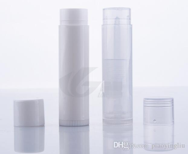 5g PP Lipstick tube Lip balm tube plastic pipe, DIY, plastic pipe, PP lipstick tube WHOLESALES