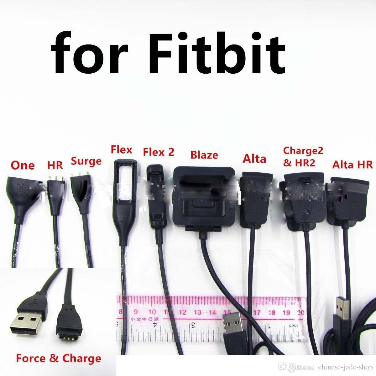 Зарядное устройство зарядный кабель для Fitbit Charge 2 Alta Flex HR Blaze HR One force surge Charge alta Flex 2 100 шт./лот
