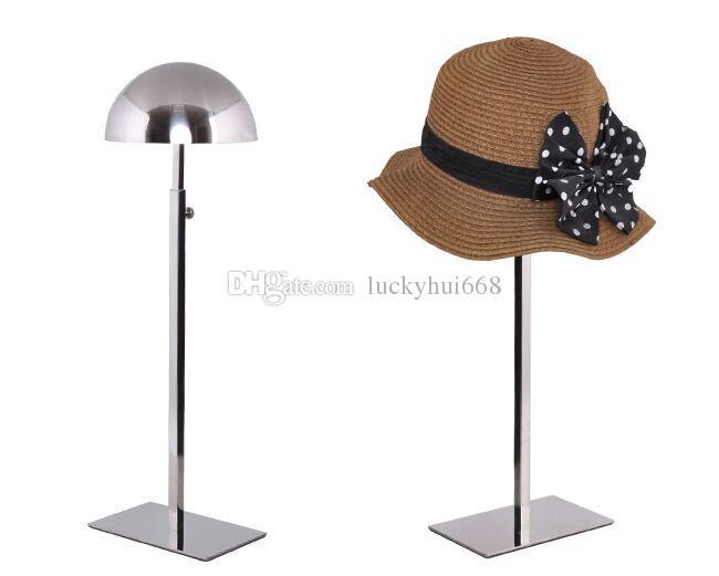 Оптовая многофункциональная шляпа дисплей стенд высокое качество stainess стальная крышка стеллаж для выставки товаров регулируемый парик шиньон держатель стенд