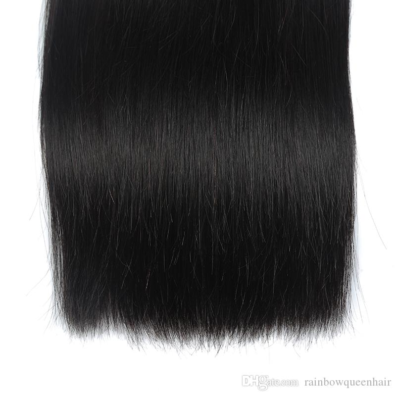 Cheapest Malaysian Virgin Hair Straight Weave 100% Straight Human Hair Extension For Best Sale 3 Bundles & 4 Bundles for Black Woman