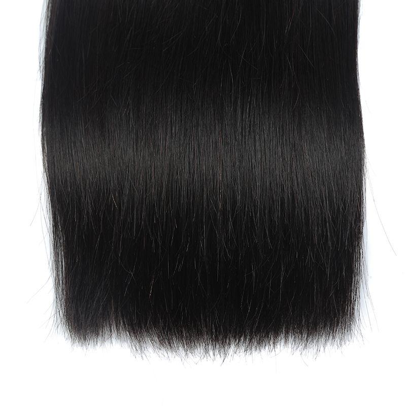 Malaysian Hair Extension 100% Straight Virgin Human Hair 3/4 Bundles Russian Extension Weave Filipino Straight remy human hair