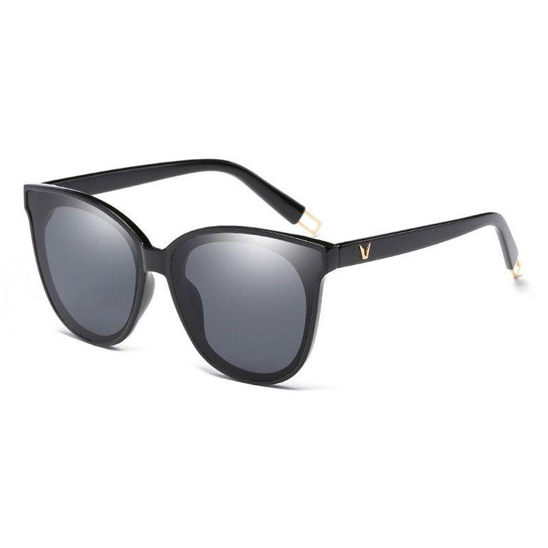 Compre Óculos De Sol Das Mulheres Do Olho De Gato Do Vintage Marca Designer  De Óculos De Senhoras Óculos Óculos De Sol Da Menina Mais Novo Estilo  Tendência ... a988bd5bb7