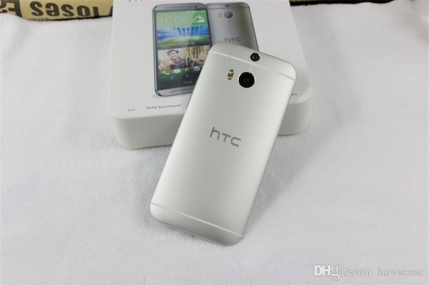 Refurbished Original HTC One M8 4G LTE Unlocked EU US 5.0 inch Quad Core 2GB RAM 16/32GB ROM Android Smart Phone DHL