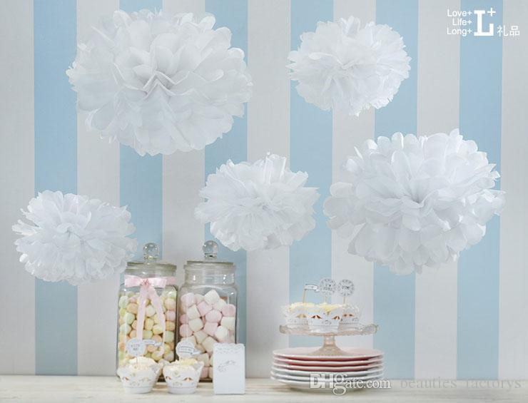 백상 제등 팬 조직 꽃 장식 웨딩 장식 중국 램프 홈 파티 정원 웨딩 장식
