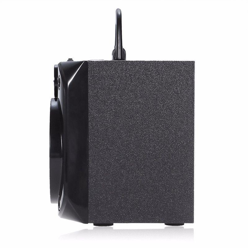 Eonec MS-178BT Multimídia Suporte Sem Fio Bluetooth Speaker LED Shinning Rádio TF Cartão de Reprodução AUX 2 Chifres Leitor de Música Estéreo