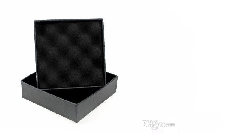 XS High Archives Schwarz Kraft Schmuck Verpackung Armband Halskette Ring Ohr Nagel Box Weihnachten Neujahr Geschenk Anpassen 6 größe