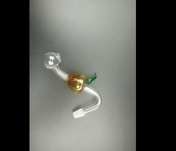 Poire bang verre poire accessoires, Pipes à fumer en verre multicolores multicolores Main Pipes Best Spoon glas