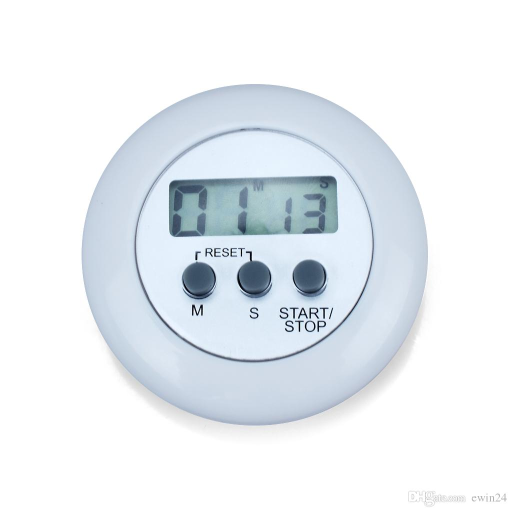 Mini Digital LCD Cozinha Contagem Regressiva Countdown Cronômetro Clipe Temporizador alarme cozinha usando melhores temporizadores de cozinha frete grátis