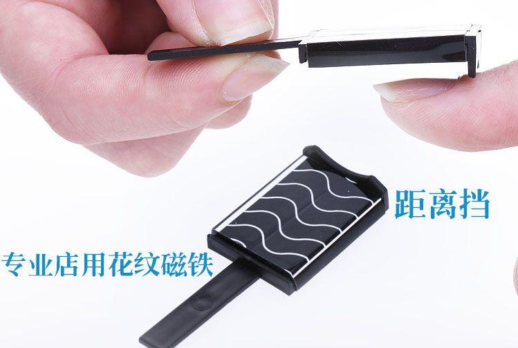 7Design Magnetyczny Kawałek Wskazówki dotyczące Nail Art Magnes Magnes Nail Polski Metallic Tool