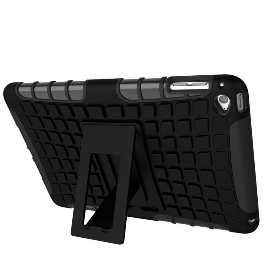 Defender Heavy-Duty Case Back Funda militar Fundas de Robot a Prueba de Golpes con Soporte Dirt Shock para iPad mini 2 3 Funda de Robot Híbrido