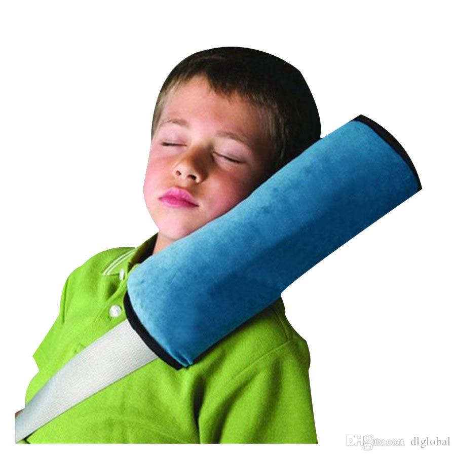1X Auto Assento de Segurança Do Bebê Cinto de Segurança Almofada de Ombro Almofada de Proteção de Crianças Cobre Almofada Apoio Travesseiro