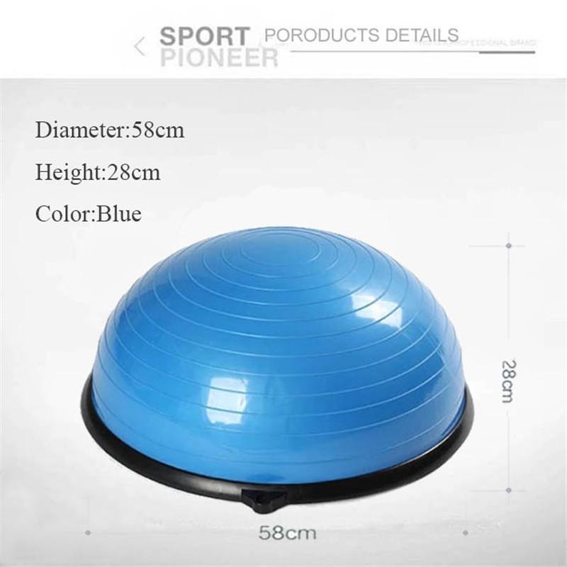 Bosu Ball Air Pump: Wholesale 58cm Bosu Ball Balance Trainer Half Yoga Ball