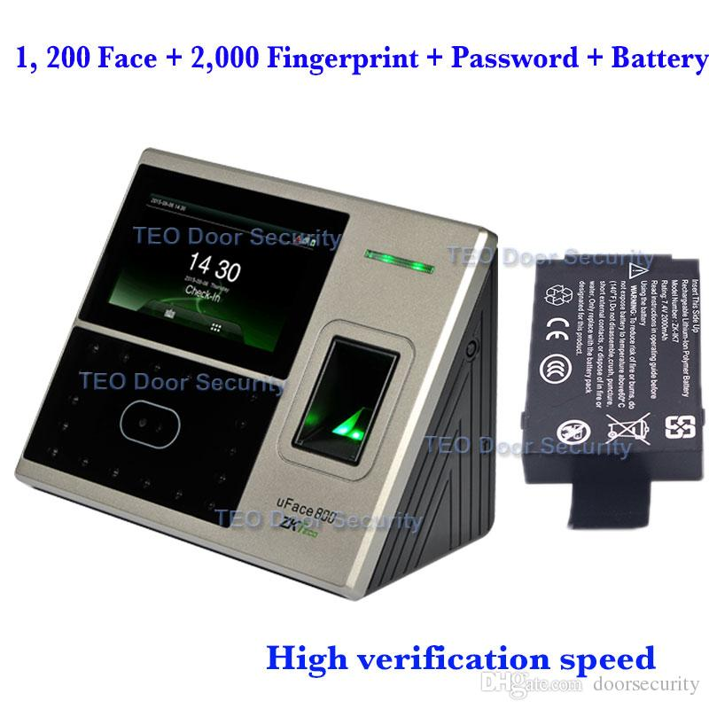 DHL Shipping 1, 200 face and 2,000 fingerprint templates ZKTeco uFace800  BioEntry iFace Face Recognition Machine High Verification Speed