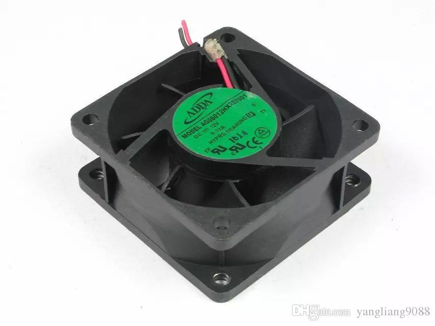 For ADDA AG06012HX257001 DC 12V 3.24A 2-wire 60mm 60x60x25mm Server Square Cooling fan